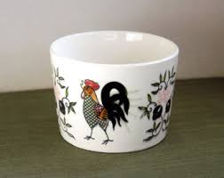Rooster Home Decor Rooster Bowls Etsy