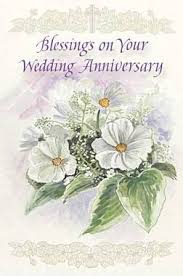 of religious wedding anniversary cards