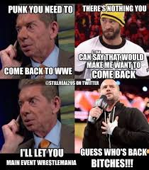 Cm Punk Meme - will cm punk be returning to wwe quora