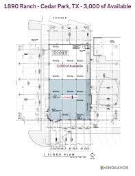 construction site plan 1890 ranch construction properties endeavor estate
