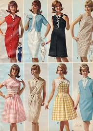 great summer values 1965 vintage colors pink yellow and full skirts
