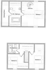 spiral staircase floor plan land for sale in hordle hampshire so41