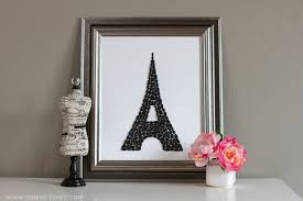 Home Of The Eifell Tower Eiffel Tower Silhouette Pebble Display Make It And Love It