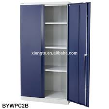 lower price steel hinged swing double door storage cabinets filing