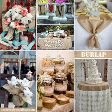 burlap wedding ideas obniiis