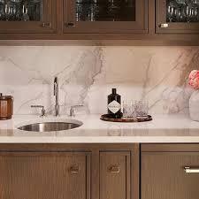 slab sink quartz slab backsplash design ideas