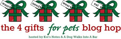 the 4 gifts for pets hop giveaway