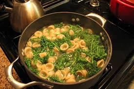 orecchiette with broccolini and sausage the nance familia