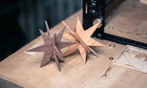 millable wooden ornaments