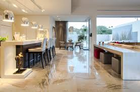 Mid Century Modern Kitchen Flooring by Mid Century Modern Inspired Birds Nest Residence In Scottsdale