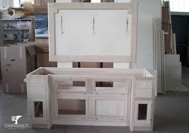 mobile bagno grezzo mobili bagno in legno grezzo