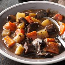 thanksgiving sweet potatoes recipes hearty beef u0026 sweet potato stew recipe taste of home