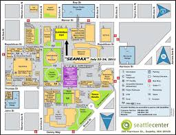 Seattle Map Downtown by Sea Max