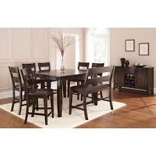 Espresso Dining Room Furniture by Steve Silver Vc900pt Victoria Counter Table In Dark Espresso