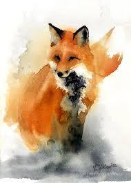 best 25 watercolor fox ideas on pinterest watercolor fox