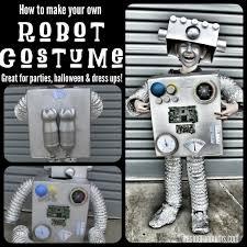 Robot Halloween Costume Coolest Robot Costume