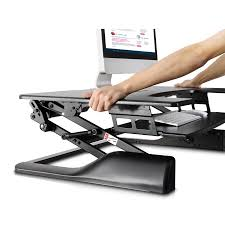 Sit Stand Treadmill Desk by Sit Stand Desktop Workstation Mounts Products