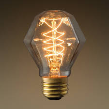 Vintage Lighting Fixture Vintage Bulb Gem Shape 40w Bulbrite 132518