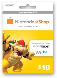 nintendo eshop gift card eshop prepaid card 10 us key