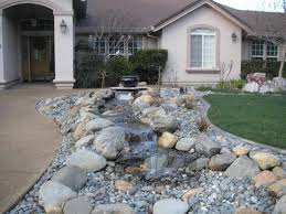 Rock Garden Designs For Front Yards Opulent Front Yard Design With Rocks Top Landscaping Ideas