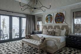 Zen Interiors Rustic Mountain House With Zen Interiors Cashmere Interior