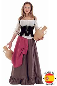 medieval halloween costume medieval waitress costume for women vegaoo