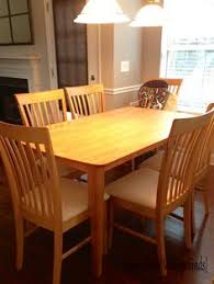 Wisconsin Furniture Company Twin Pedestal Table Solid Birch 42