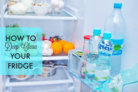 how to deep clean how to deep clean your fridge mom fabulous