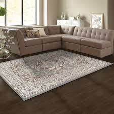 Brown Area Rugs Astoria Grand Vassar Gray Brown Area Rug Reviews Wayfair