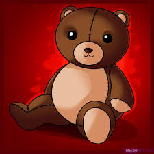 learn how to draw a teddy bear stuff pop culture free step by