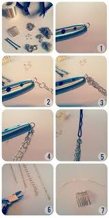 diy necklace chains images Diy hair necklace pinterest diy hair hair chains and chains jpg