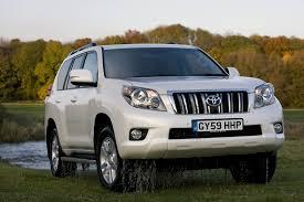 toyota jeep white toyota land cruiser lc5 3 0 first uk drive