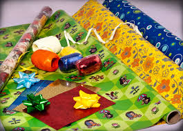 sports wrapping paper wrapping paper pp bags ribbons albi gifts bring great