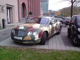 custom bentley continental bentley continental gt camouflage version found in berlin the