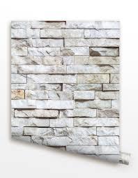 Herringbone Line Wallpaper Beige Peel by Pop Decors Wallpaper Is Super Easy For Installation Just Peel And
