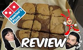 is dominos open on thanksgiving dominos new marbled cookie brownie review junk food