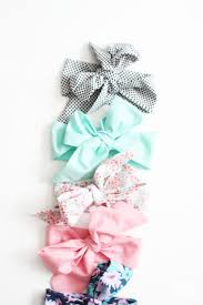 baby headwraps diy baby bow wraps destination nursery