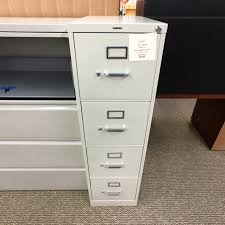 used hon file cabinets used hon 4 drawer vertical file cabinet putty fiv9999 509 office