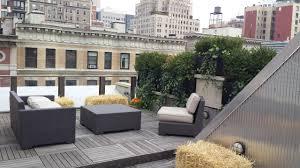 beautiful terrace garden design by greening stone terrace