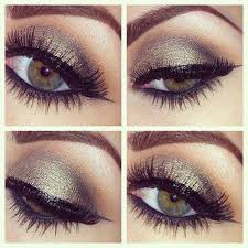 prom beautiful eye makeup for green eyes