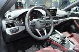 subaru tribeca 2015 interior 2016 audi a4 allroad quattro interior at the geneva motor show