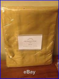 Ebay Pottery Barn Drapes Set 4 Pottery Barn Foundations Gold Wheat Lined Silk Dupione