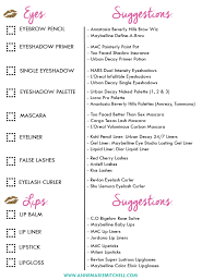 the ultimate makeup kit checklist free printable download