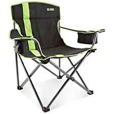 Deluxe Camping Chairs Chair In Stock Uline