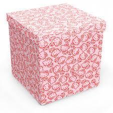 great pink storage ottoman with storage ottoman 15 15 bonners