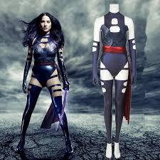 Apocalypse Halloween Costume Aliexpress Buy Men Apocalypse Cosplay Psylocke Costume