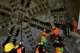 Western Union Bad Cannstatt Erster Durchschlag Des Boßlertunnels Im Filstal