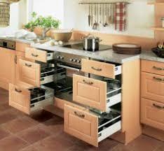 Take A Tour Around A Smart Walnut Kitchen Walnut Kitchen - Drawers kitchen cabinets