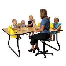 daycare table and chairs 48 activity tables for kiddieland toys light and sound