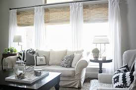 custom bamboo roman shades ideas